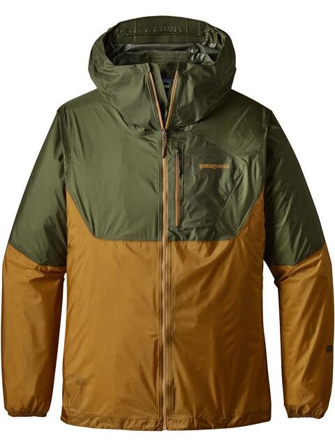 Patagonia M's Alpine Houdini Jacket Buffalo Green